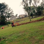 Neues von den Arbeiten am Hundeplatz nach Sturm Ela