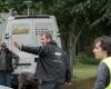 """Crewmitglied von Tatort  """"Krumme Hunde"""" der ARD bei den Dreharbeiten"""